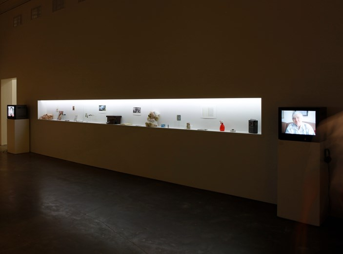 Installation view at the New Museum in 2014. Photo courtesy New Museum
